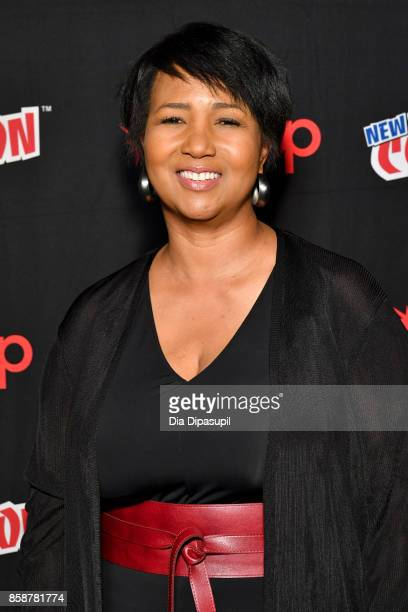 Dr Mae Jemison attends the Star Trek Discovery panel during 2017 New York Comic Con Day 3 at Theater at Madison Square Gardenon October 7 2017 in New...