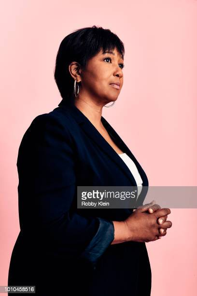 Dr Mae Jemison of National Geographic's 'Mars' poses for a portrait during the 2018 Summer Television Critics Association Press Tour at The Beverly...