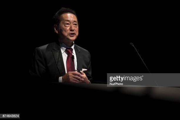 Dr Mamoru Mohri Chair of the Science Centre World Summit 2017 speaks about the importance of the Tokyo Protocol during the Science Centre World...