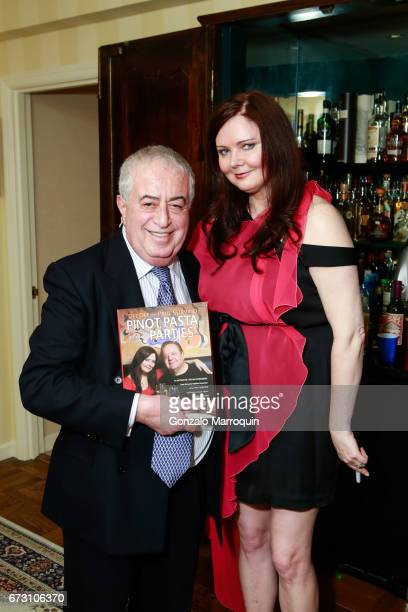 Dr Marc Benhuri and Dee Dee Sorvino attend the Paul Dee Dee Sorvino celebrate their new book Pinot Pasta Parties at 200 East 57th Street on April 25...