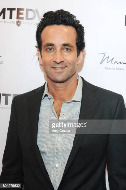 Dr Marc Mani attends A Night Out a fundraising event benefiting #MoveToEndDV hosted by Beverly Hills plastic surgeon Dr Marc Mani at Alex Casalino's...