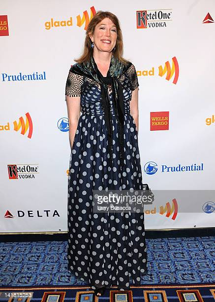 Dr Marci Bowers attends the 23rd Annual GLAAD Media Awards presented by Ketel One and Wells Fargo at Marriott Marquis Theater on March 24 2012 in New...