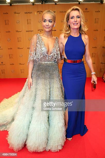 Dr Maria Furtwaengler Burda and Rita Ora during the Bambi Awards 2015 at Stage Theater on November 12 2015 in Berlin Germany