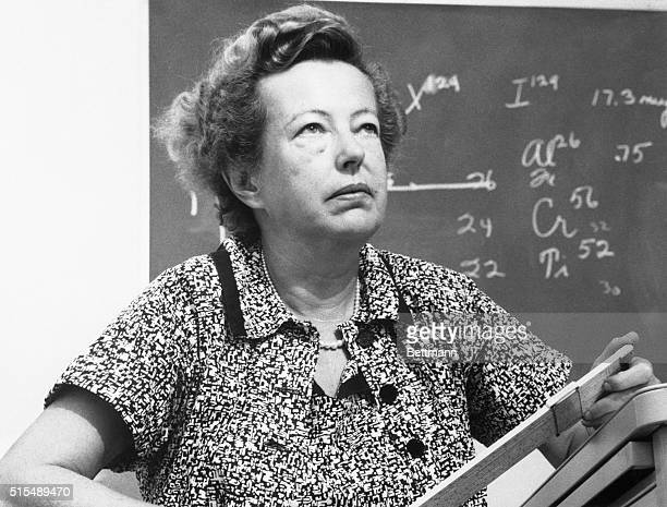 Dr Maria Goeppert Mayer of the University of California was named a cowinner of the 1963 Nobel Prize for Physics She and Prof Hans D Jenson of the...