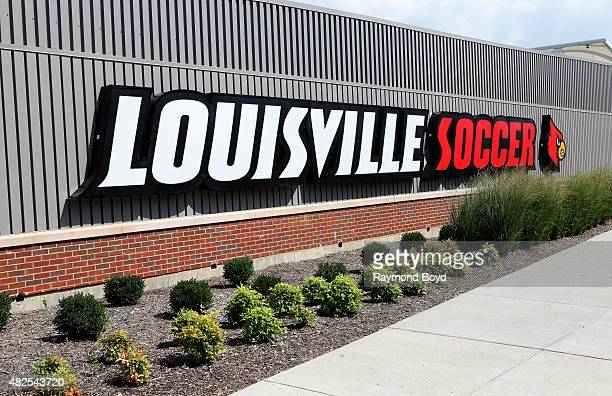 Dr Mark and Cindy Lynn Stadium home of the Louisville Cardinals men's and women's soccer teams on July 19 2015 in Louisville Kentucky