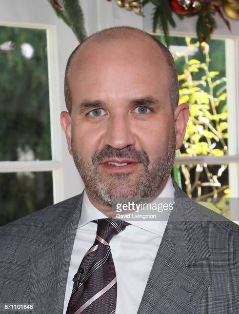 Dr Mark Deuber visits Hallmark's 'Home Family' at Universal Studios Hollywood on November 6 2017 in Universal City California