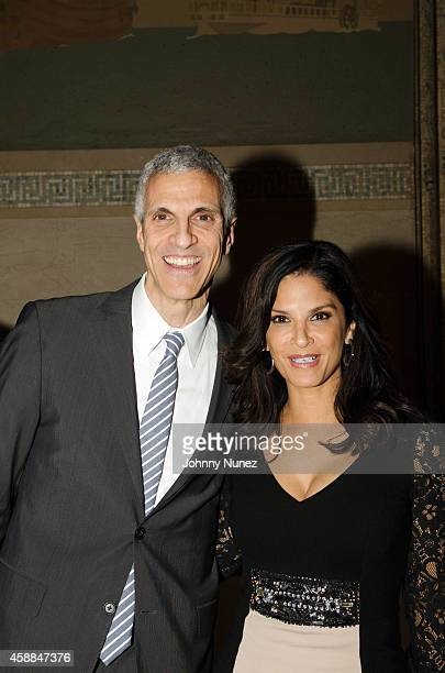 Dr Mark M Souweidane and Darlene Rodriguez attend the 6th Annual Christian Rivera Foundation Gala at Broad Street Ballroom on November 11 in New York...