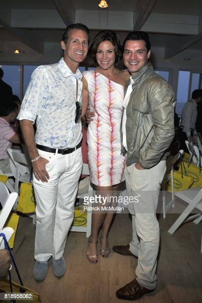 Dr Mark Warfel Countess LuAnn de Lesseps and Juliano DeRossi attend MIRACLE HOUSE 20th Anniversary Memorial Day Summer Kickoff Benefit honoring Amy...