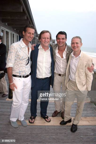 Dr Mark Warfel Patrick McMullan Juliano deRossi and Alan Rish attend MIRACLE HOUSE 20th Anniversary Memorial Day Summer Kickoff Benefit honoring Amy...