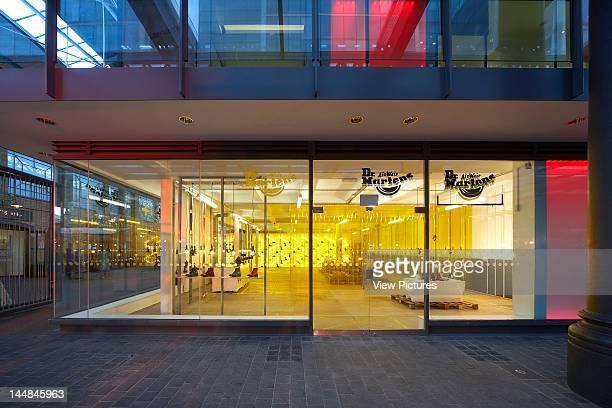 Dr Martens Pop Up Store Spitalfields LondonLondon E1 United Kingdom Architect Campaign Design Dr Marten PopUp Store Campaign Design Spitalfields...