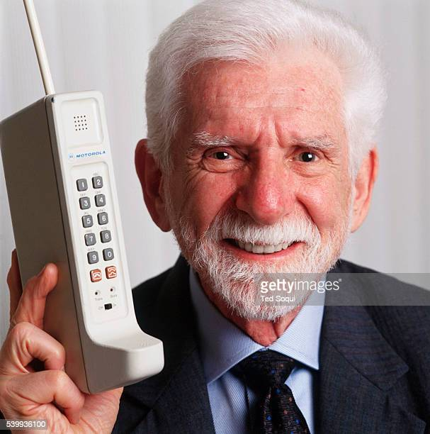 Dr Martin Cooper with the first portable handset He is considered the inventor of the first cell phone and was the first person to make a call on a...