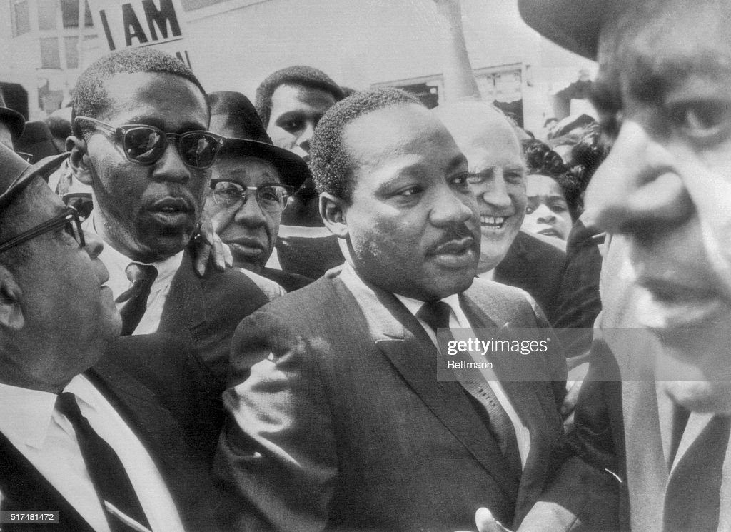 Dr. Martin Luther King Jr., with Followers : News Photo