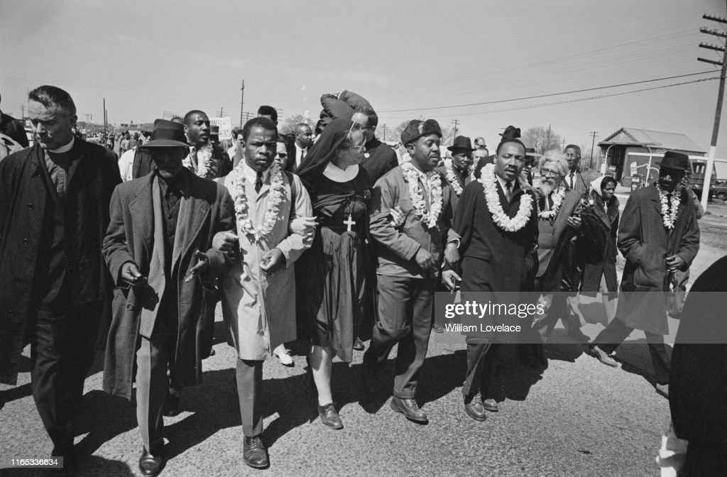 March in Selma : News Photo