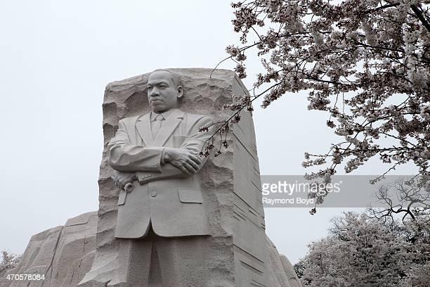 Dr Martin Luther King Jr Memorial on April 10 2015 in Washington DC