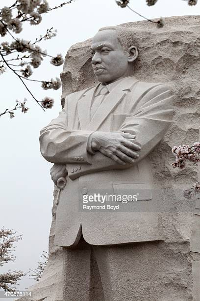 Dr Martin Luther King Jr Memorial on April 10 2015 in Washington DC