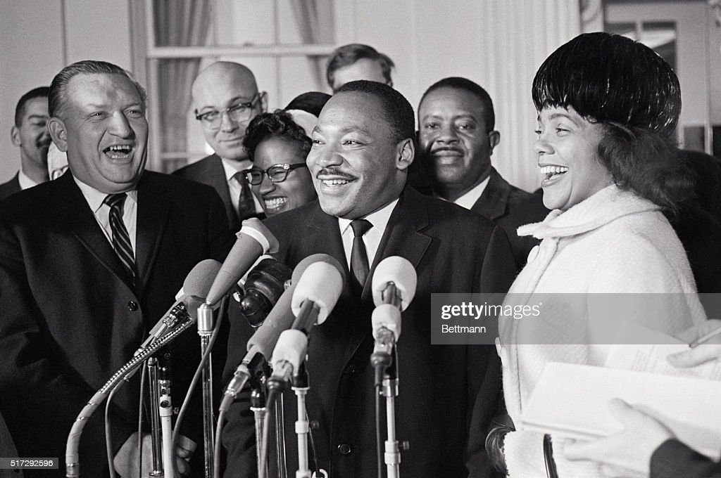 Dr Martin Luther King Jr Winner Of The Nobel Peace Prize And