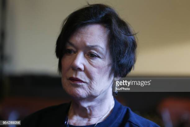 Dr Mary Short the General Practitioner during a press conference with Clinical Expert Panel from the HSE to address public concern surrounding...