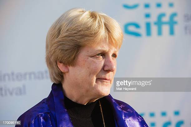 Dr MaryClaire King arrives at the Seattle International Film Festival Premiere of Decoding Annie Parker at Egyptian Theater on June 6 2013 in Seattle...