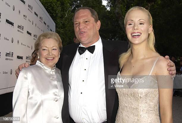 Dr Mathilde Kim Harvey Weinstein and Ariane Sommer