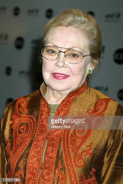 Dr Mathilde Krim during amfAR and ACRIA Honor Herb Ritts with a Sale of Contemporary Artwork Inside Arrivals at Sothebys in New York City New York...