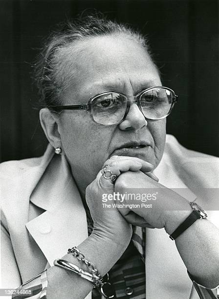 FILE Dr Maurine Pehlam Johnson chief of Staff at the Veterans Administration Hospital and Native Washingtonian in Washington DC on September 29 1975