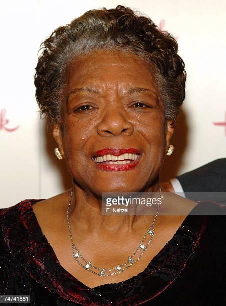 Dr. Maya Angelou in Hollywood, California