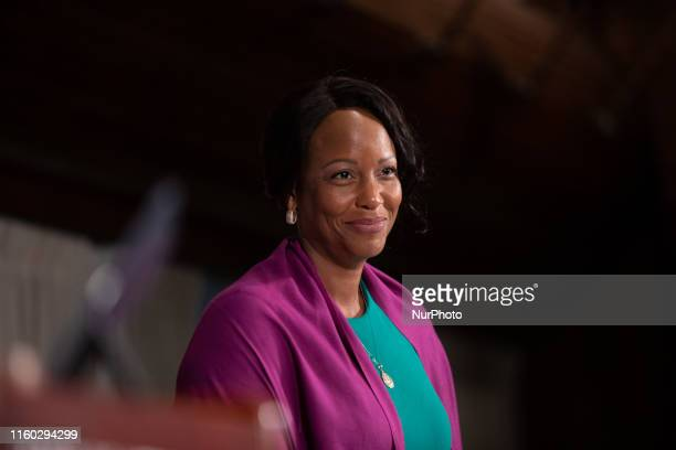 Dr Maya Rockeymoore Cummings President/CEO Center for Global Policy Solutions and wife of Rep Elijah Cummings DMd chairman of the House Committee on...
