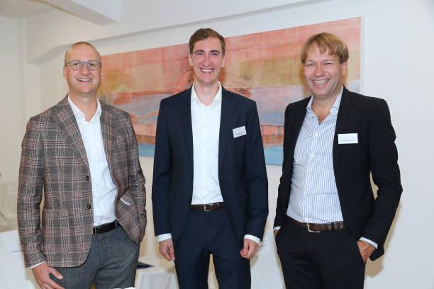 """DEU: Photocall At New Eye Clinic """"Augenzentrum Prinz 25"""" In Augsburg"""