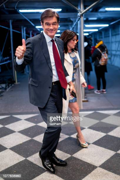 Dr Mehmet Oz and Lisa Oz attend L'Oreal Women of Worth at the Piere Hotel in Midtown on December 05 2018 in New York City