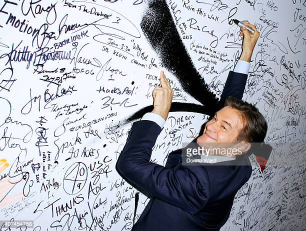 Dr Mehmet Oz appears to promote The Dr Oz Show during the AOL BUILD Series at AOL Studios In New York on November 16 2015 in New York City