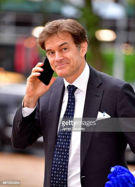 Dr Mehmet Oz arrives to the American Ballet Theatre Spring 2017 Gala at The Metropolitan Opera House on May 22 2017 in New York City