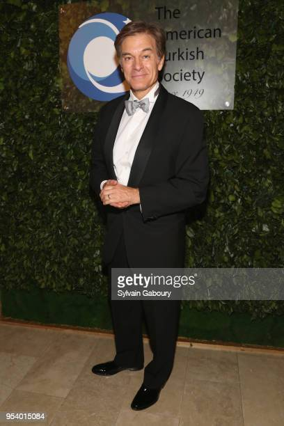 Dr Mehmet Oz attends 2018 American Turkish Society Gala on May 2 2018 in New York City