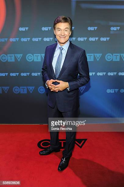 Dr Mehmet Oz attends CTV Upfronts 2016 at Sony Centre for the Performing Arts on June 8 2016 in Toronto Canada