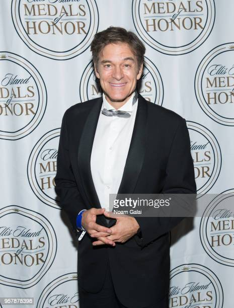 Dr Mehmet Oz attends the 2018 Ellis Island Medals of Honor at Ellis Island on May 12 2018 in New York City