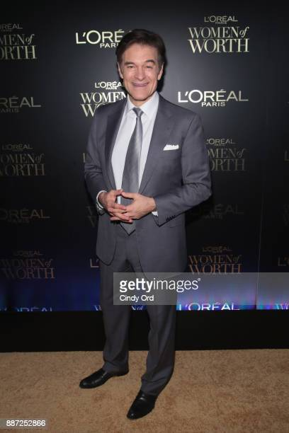 Dr Mehmet Oz attends the L'Oreal Paris Women of Worth Celebration 2017 on December 6 2017 in New York City