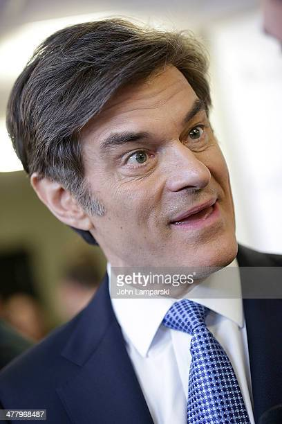 Dr. Mehmet Oz attends the Pinoy Relief Benefit concert>> at Madison Square Garden on March 11, 2014 in New York City.