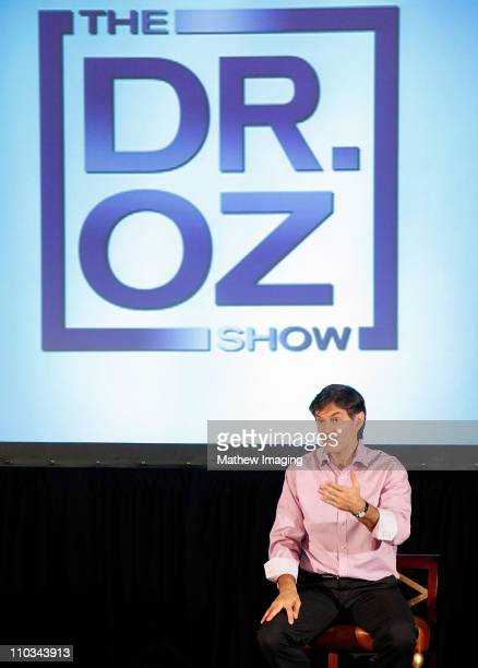 Dr Mehmet Oz host of The Dr Oz Show appears at the Sony Pictures Television TCA Luncheon at the Langham Hotel on August 7 2009 in Pasadena California
