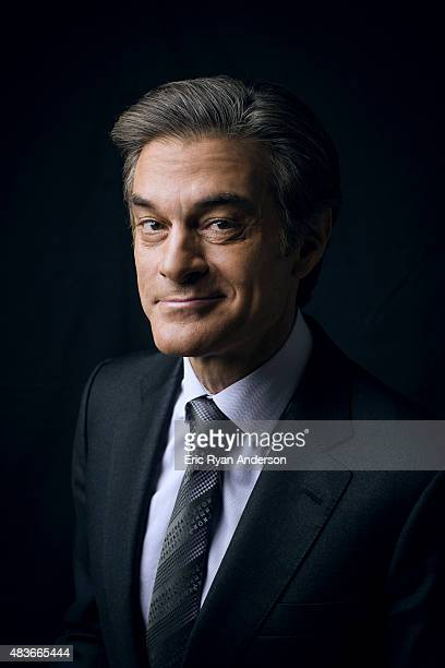 Dr Mehmet Oz is photographed for The Hollywood Reporter on August 28 2014 in New York City