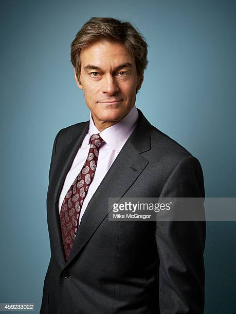 Dr Mehmet Oz is photographed Self Assignment on September 11 2014 in New York City