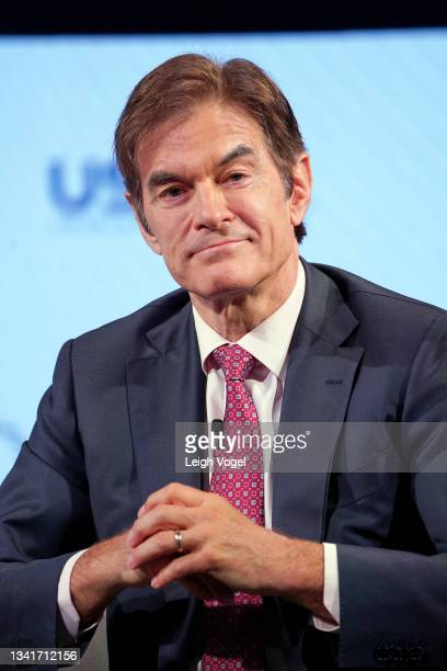 Dr. Mehmet Oz, Professor of Surgery, Columbia University speaks onstage during the 2021 Concordia Annual Summit - Day 2 at Sheraton New York on...