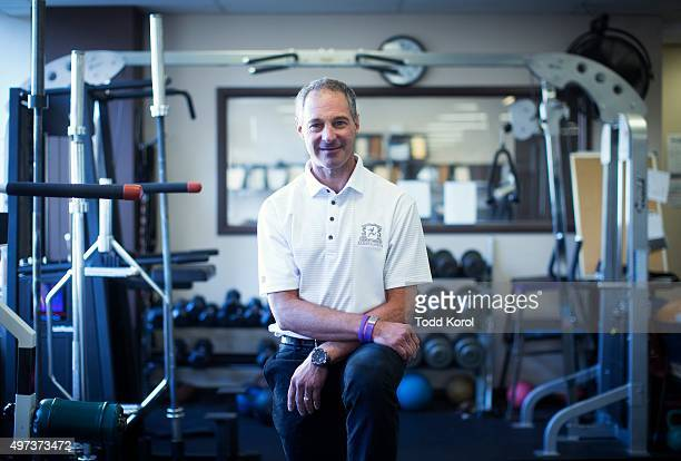 Dr Michael Clarfield the former Maple Leafs team doctor who had pancreatic cancer and is now cancer free at his sports clinic Toronto Canada...