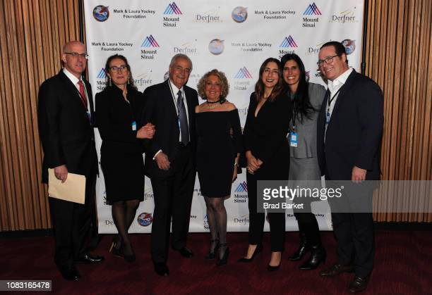 Dr Michael L Marin Dr Jeanne Marin Jay Lieberman Penny Lieberman Andrea Lieberman Alexis Lieberman and Eric Lieberman attend Steve Miller Band...