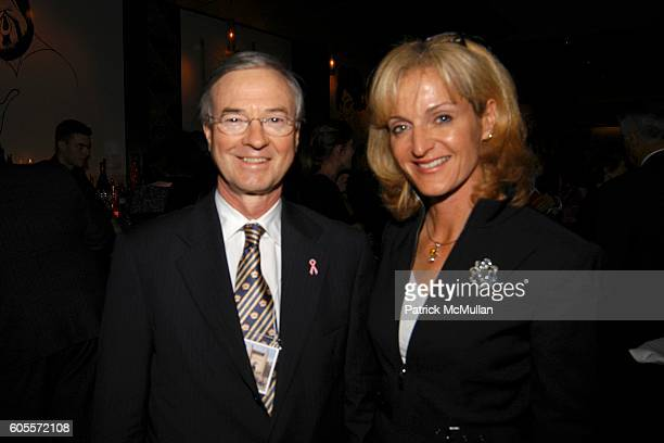 Dr Michael Osborne and Ann Liguori attend The STRANG Cancer Prevention Center benefit screening of THE KEEPER THE LEGEND OF OMAR KHAYYAM at Allan...