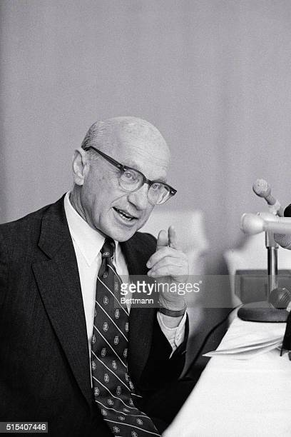 Dr. Milton Friedman, Professor of Economics, University of Chicago, predicted 5/18, prior to addressing the Economic Club of Detroit, that inflation...