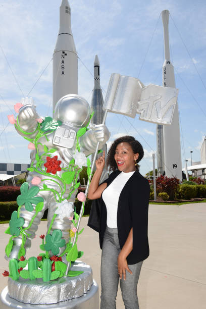 FL: MTV Unveils Special Edition Large-Scale Moon Person At Kennedy Space Center Visitor Complex In Honor Of The Youth Brand's 40th Anniversary