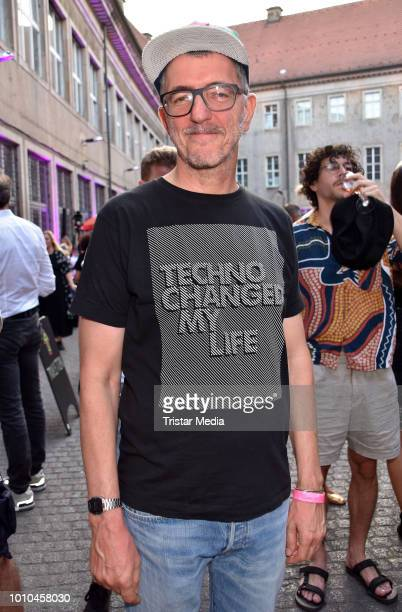 Dr Motte during the 'Nineties' Vernissage on August 2 2018 in Berlin Germany