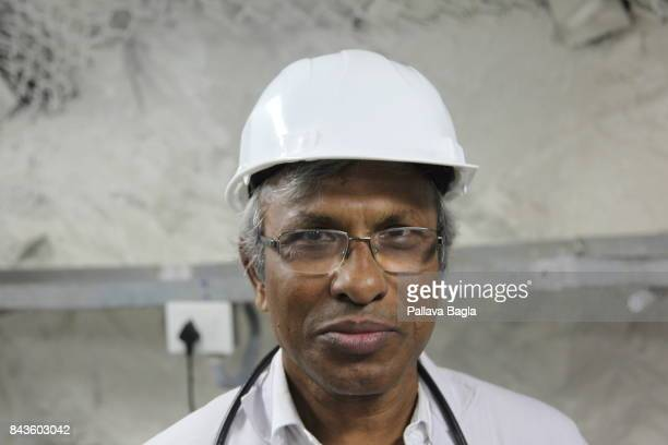 JADUGODA JHARKAHND INDIA SEPTEMBER 02 Dr Naba Mondal physicist and lead researcher for the India Based Neutrino Observatory and a key proponent of...