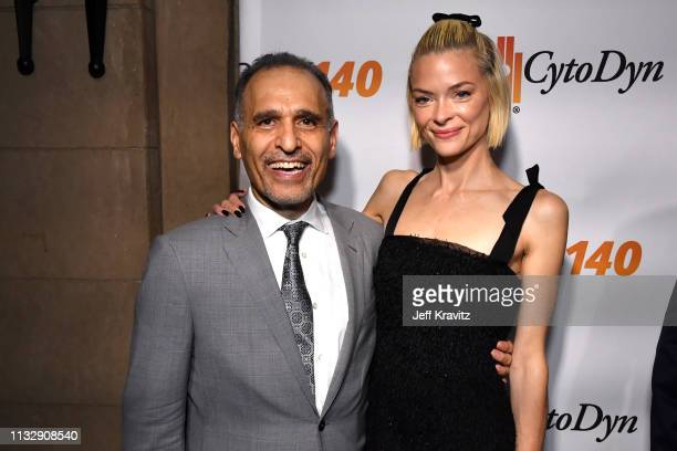 Dr Nader Pourhassan and Jaime King attend CytoDyn's Pro 140 Awareness Event for HIV and Cancer Prevention at The Roosevelt Hotel in Hollywood on...