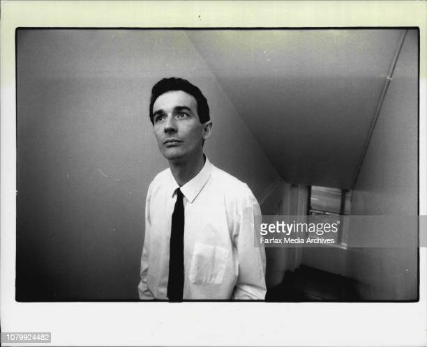 Dr Neil Bodsworth coordinating a trial on AZT Seen here at the Aids clinic at the cnr Albion and Crown St May 29 1989