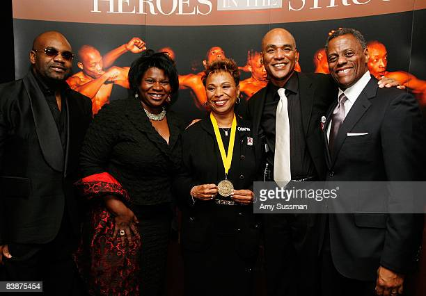 Dr Neil Lowe vice president of the National Coalition of Black Women Gazelle Howard the honorable Barbara Lee founder of The Black AIDS Institute...